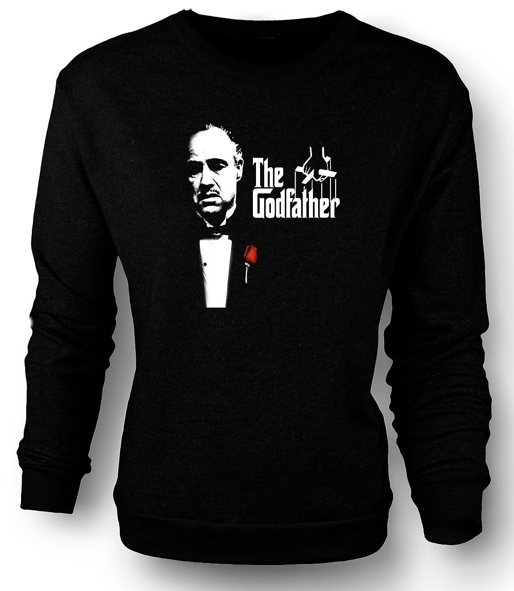 Mens Sweatshirt The Godfather - Brando - Mafia