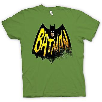 Mens T-shirt - Batmans Cape - Comic Hero