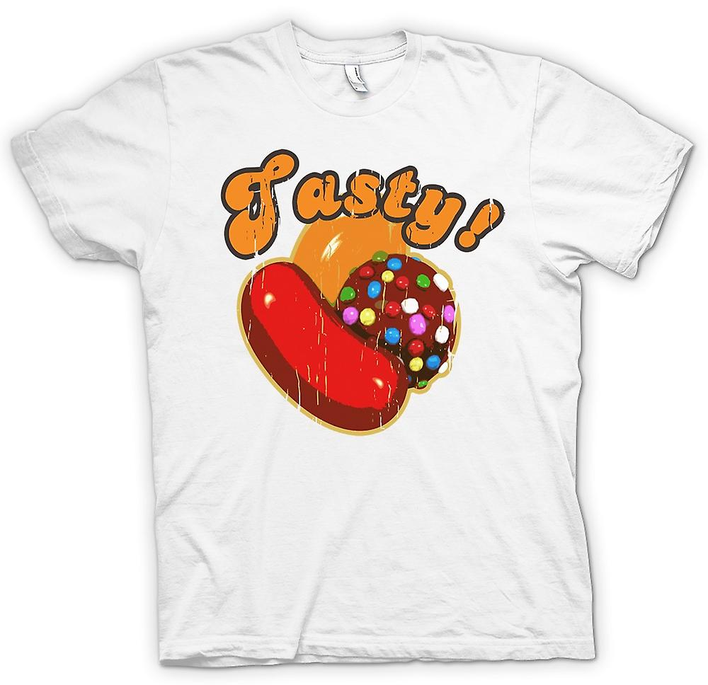 Womens T-shirt - Tasty - Candy Crush Inspired Gamer