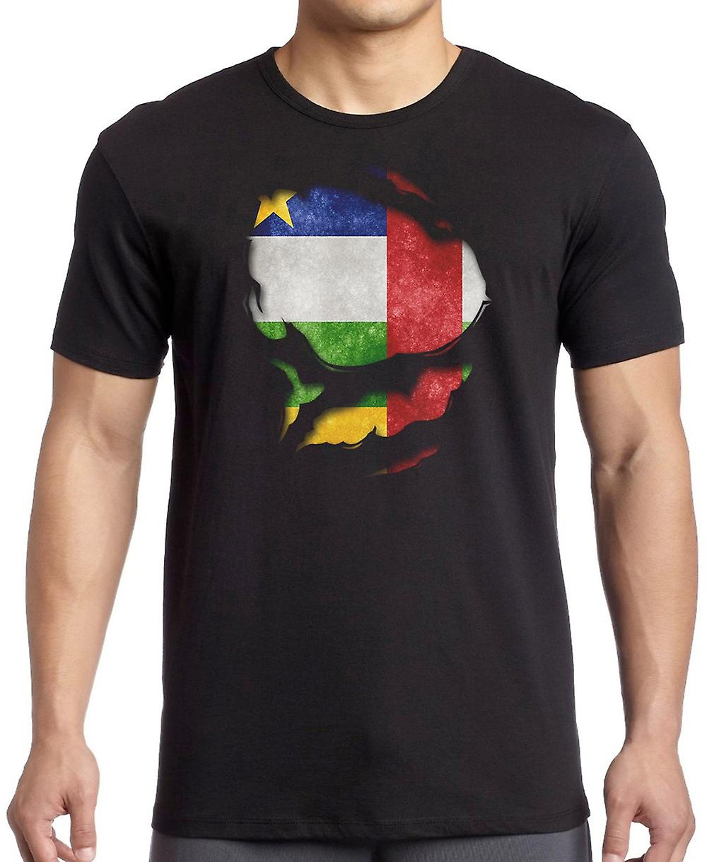 Czech Republic Ripped Effect Under Shirt Kids T Shirt