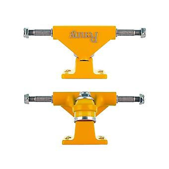 Penny Yellow Solid Series - 3 Inch Pair of Cruiser Trucks