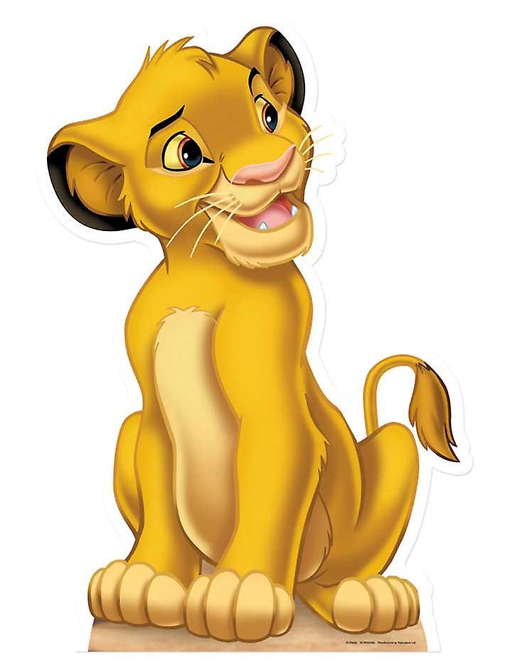 Simba - Lion King Lifesize Cardboard Cutout / Standee