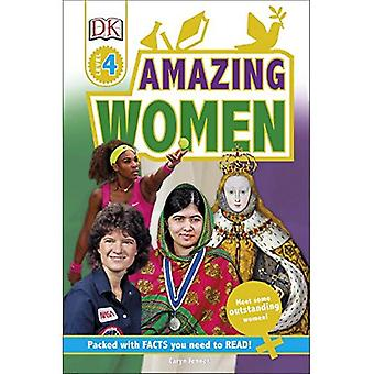 Amazing Women: Discover Inspiring Life Stories - DK Readers Level 4
