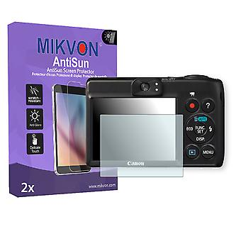 Canon PowerShot A1300 Screen Protector - Mikvon AntiSun (Retail Package with accessories)