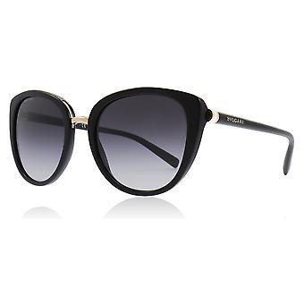 Bvlgari BV8177 501 / 8G Schwarz BV8177 Katzen Augen Sonnenbrillen Kategorie 3 Objektivgröße 53mm
