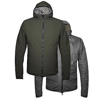 Кольмар Кольмар хаки & серый реверсивный куртка с капюшоном