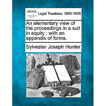 An elementary view of the proceedings in a suit in equity  with an appendix of forms. by Hunter & Sylvester Joseph