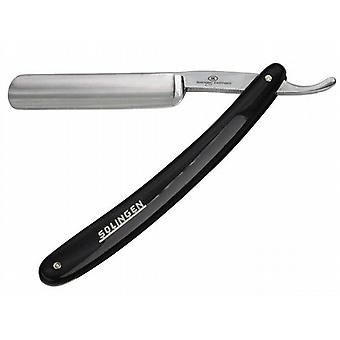 "Hans Kniebes Solingen Straight Razor 5/8"" Black Handle"