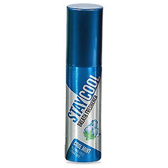 Ficar o maço de hortelã fresca de respiração 10 purificadores higiene Oral boca lata de pulverizador de bomba