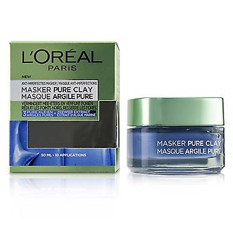 L'oreal Pure Clay Mask - Anti-imperfections Mask - 50ml/1.7oz