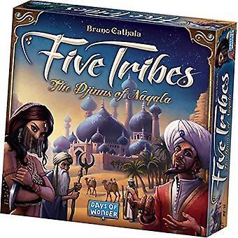 Fünf Stämme der Djinns von Naqala Brettspiel