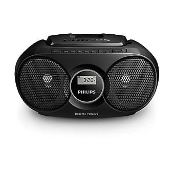 Radio CD Philips AZ318B/12 FM 3W Noir