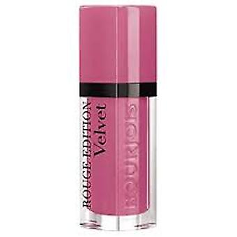 Bourjois LIP Rouge Edition Velvet Lipstick 6.7 ml-så Hap rosa