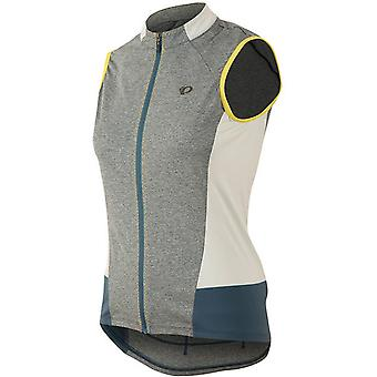 Pearl Izumi Grey-Blue Steel Select Escape Womens Cycling Jersey-Sleeveless
