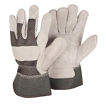 Briers Men's Large Grey Rigger Gloves - Twin Pack