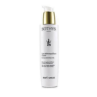 Sothys Clarity Cleansing Milk - For Skin With Fragile Capillaries , With Witch Hazel Extract 200ml/6.76oz