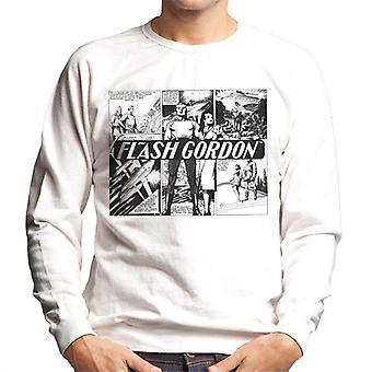 Flash Gordon Submarine Comic Montage Men's Sweatshirt