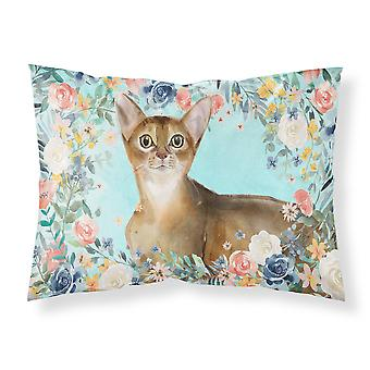 Abyssinian Spring Flowers Fabric Standard Pillowcase