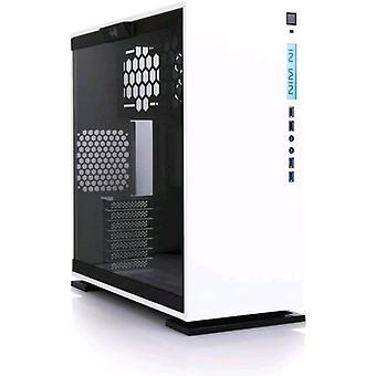 Inwin 303 aurora edizione armadio midi-tower vetro bianco temperato