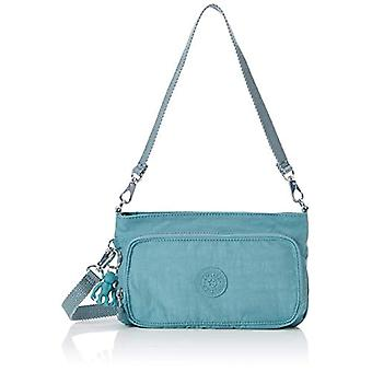 Kipling Blue Women's shoulder bag (Blue (AQUA FROST 50L)) 24x14.5x4.5 cm (B x H x T)