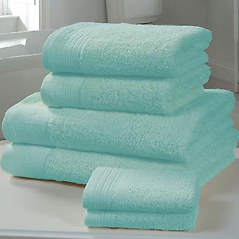 Chatsworth 4 Piece Towel Bale Turquoise - 2 Hand Towels, 2 Bath Towels