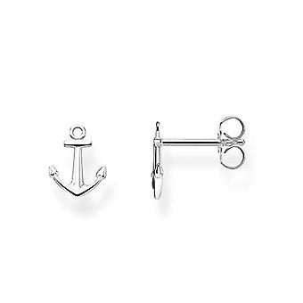 THOMAS SABO Women Silver Pin Earrings H2094-001-21