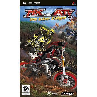 MX vs ATV On the Edge (PSP) - Usine scellée