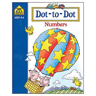 Activity Workbooks 32 Pages Dot To Dot Numbers Ages 4 6 Szact 02190