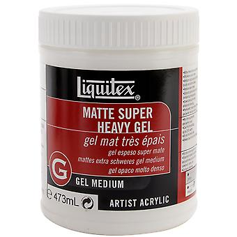 Liquitex Super Heavy Matte Gel Medium 16 Ounces 5816