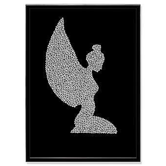 Cristal arte cuadro Angel MBP-7