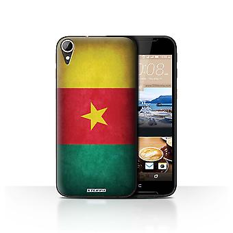 STUFF4 Case/Cover for HTC Desire 830/Cameroon/Cameroonian/Flags