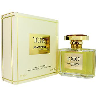 1000 by Jean Patou 2.5 oz EDT Spray