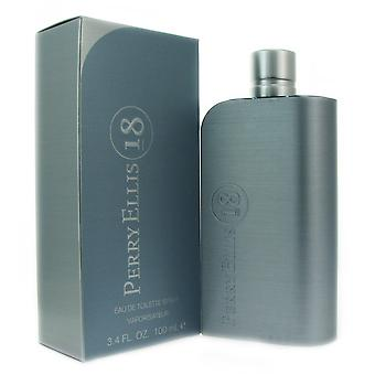 Perry Ellis 18 hommes 3,4 oz EDT spray