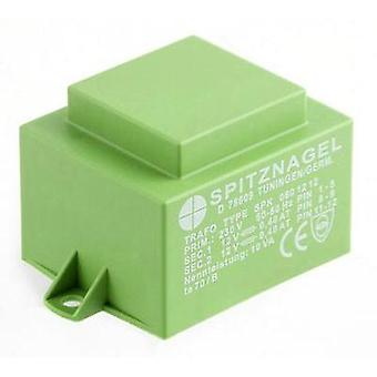 Spitznagel SPK 08009 - PCB Mount Transformer 9V