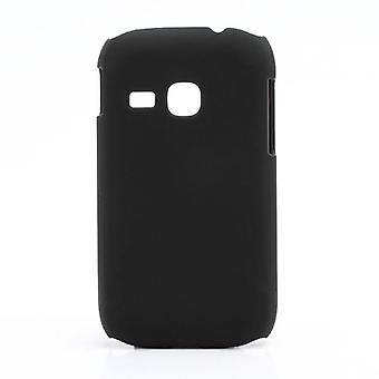 Dræbe overflade gummi cover til Samsung Galaxy Young (sort)