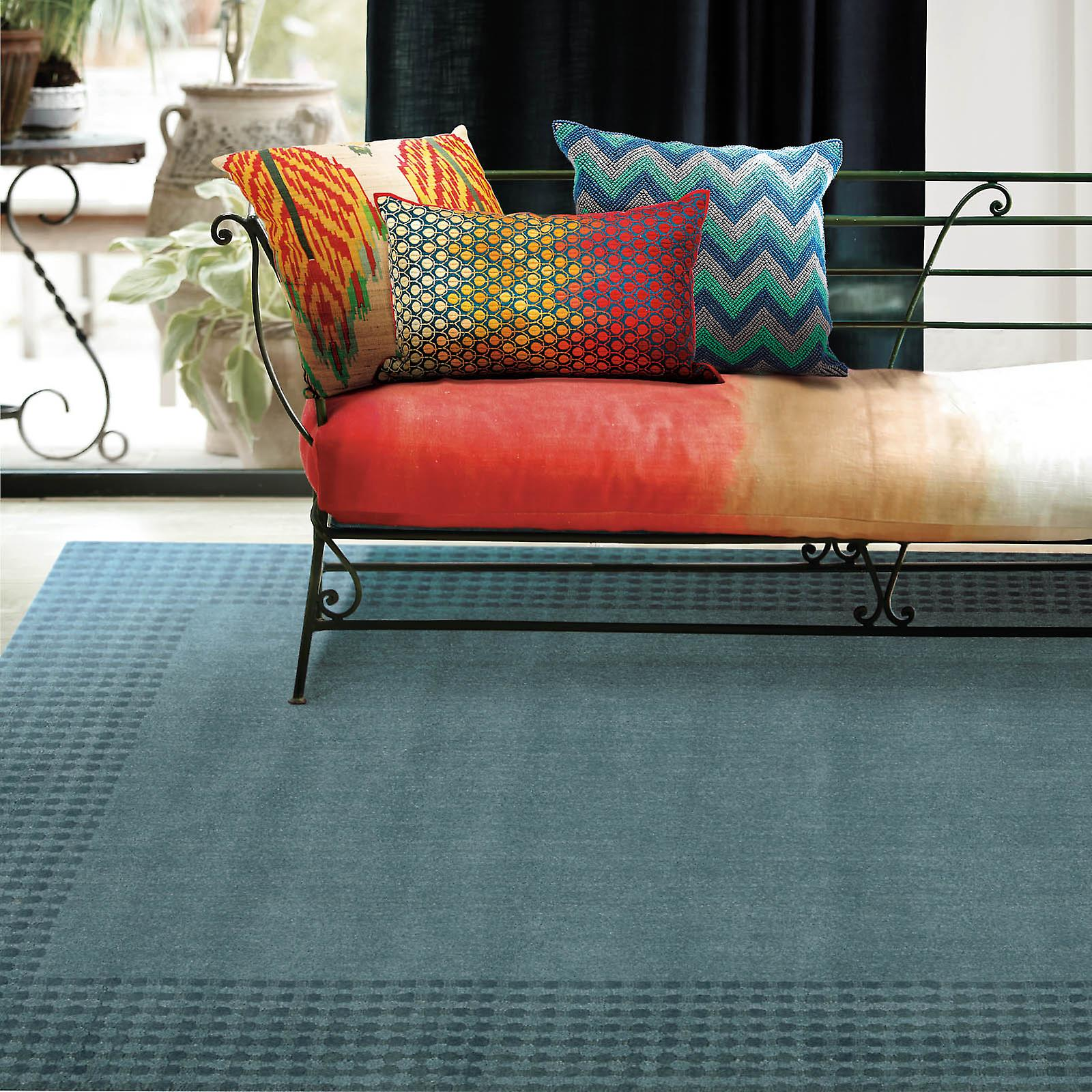 Cottage Grove Rugs Ki700 Ocean Blue