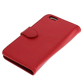 OTB case (leather) for Apple iPhone 6 Bookstyle Red