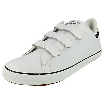 Mens Hi-Tec Trainers - Leather - White - UK Shoe Size 8