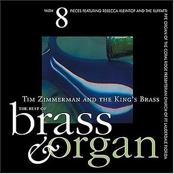King's Brass - The Best of Organ & Brass [CD] USA import