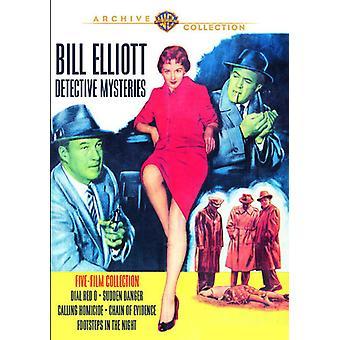 Bill Elliott Mysteries [DVD] USA import