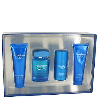Perry Ellis Men Perry Ellis Aqua Gift Set By Perry Ellis