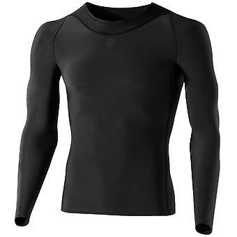 Skins Men RY400 Long Sleeve Top Recovery Funktionsshirt Black - B43039005