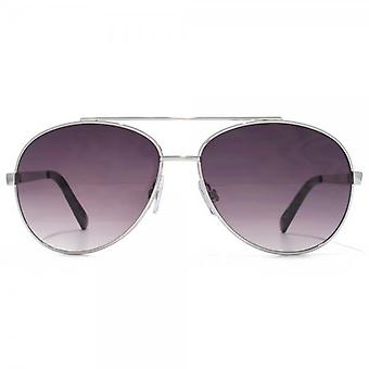 Glare Eyewear Maui Aviator Sunglasses In Silver
