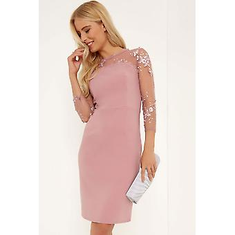 Little Mistress Embroidery Bodycon