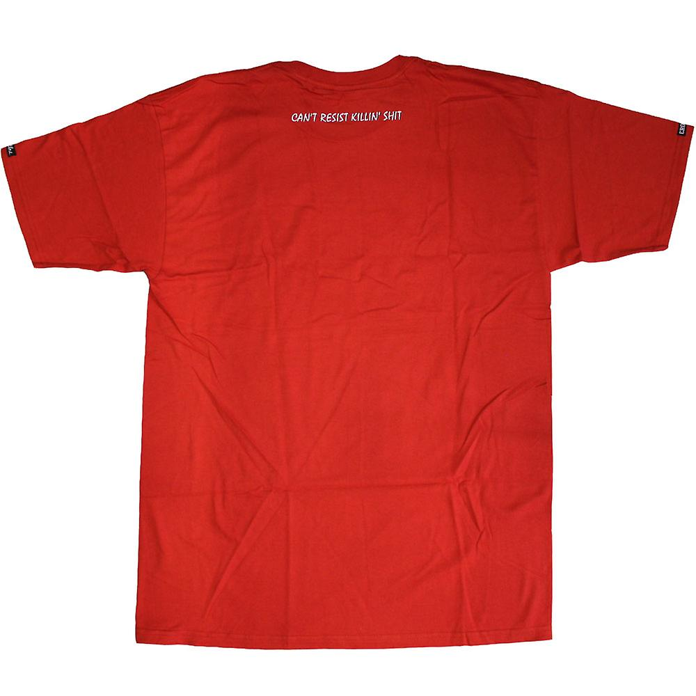 Crooks & Castles Dare Me T-shirt Red