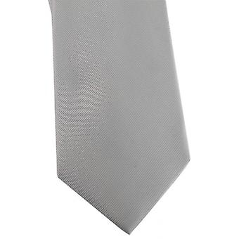 David Van Hagen Diagonal Ribbed Tie - Cyan