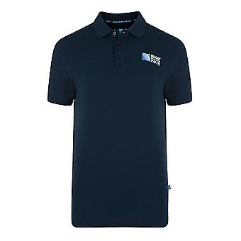 England RWC 2015 No 8 Plain Polo Shirt (Navy)