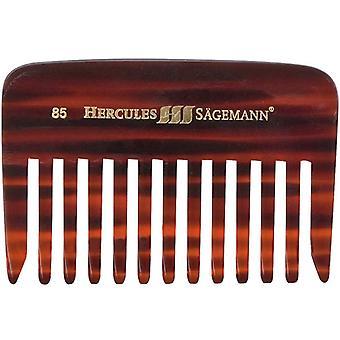 Hercules Sagemann skjegg kam lange tenner Sawcut 9cm