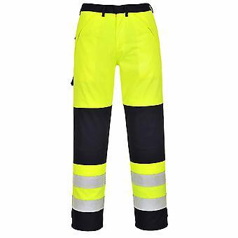Portwest - Hi-Vis Fire Hi-Vis Resistant Workwear Trousers