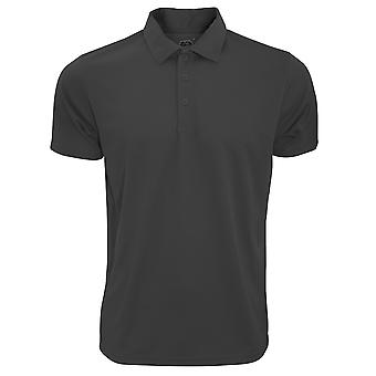 Fruit Of The Loom Mens Moisture Wicking Short Sleeve Performance Polo Shirt